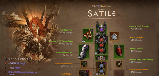 Going Primitive for Diablo 3 Items with Stone Age Barbarian