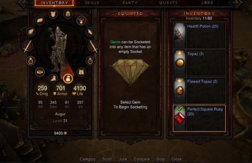diablo 3 items for gold